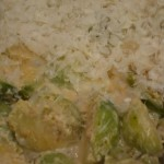 Rosenkohl mit Parmesan