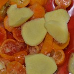 Kumquats und Ingwer