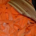 Karottenspäne