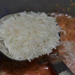 Reis dazu geben