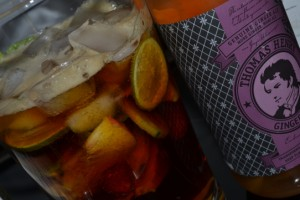 Pimm's Cup mit Ginger Ale