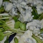 Roquefort auf Birnen-Carpaccio