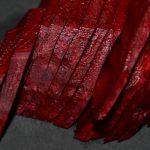 rote Bete in Scheiben schneiden