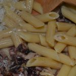 geriebenen Parmesan