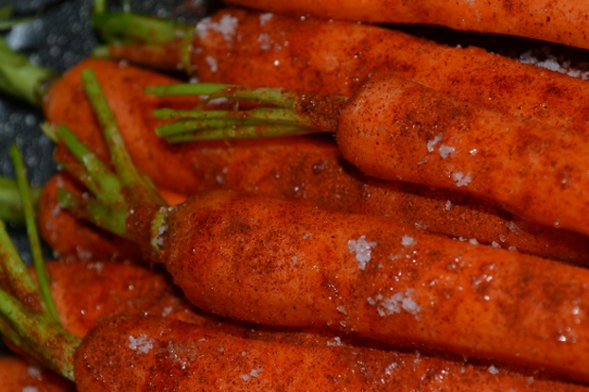 Karotten mit edelsüßem Paprika