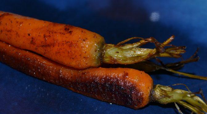 geröstete Karotten mit edelsüßem Paprika