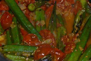 Okra in Tomatensauce